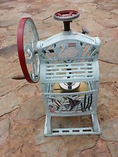 Antique Swan Block Ice Shaver Shave Ice Vintage Manual Cast Iron