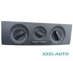 Блок управління пічкою з кондиціонером Skoda Fabia 1 1999-2007 6Y0820045B Skoda Fabia, Audi, Vehicles, Car, Vehicle, Tools