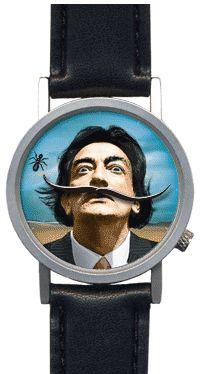 Salvador Dalí: reloj de pulsera - El Péndulo