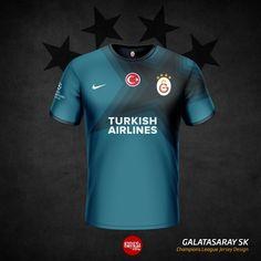 Galatasaray SK 2016 Forma Tasarimi | Soccer Jersey Design