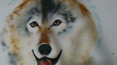 Wolf sprayed in a kids room 3