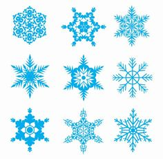 Great free clipart, png, silhouette, coloring pages and drawings that you can use everywhere. Christmas Deco, All Things Christmas, Blue Christmas, Christmas Tree, Snowflake Images, Frozen Snowflake, Paper Snowflakes, Paper Stars, Free Vector Graphics
