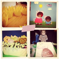 Idee carinissime per una festa per bambini a tema peppa Pig. shabby freak: Peppa pig party