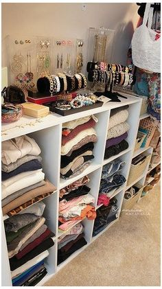 Trendy bedroom storage for small rooms cheap ikea hacks ideas Bedroom Storage For Small Rooms, Small Space Storage, Cube Storage, Bathroom Storage, Clothes Storage Ideas For Small Spaces, Storage Hooks, Small Closet Storage, Cube Shelves, Storage Cart