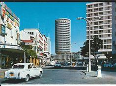 Nairobi Hilton Street Scene