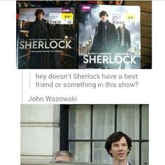 John Wazowski ohhh my god two of my favorite fandoms Disney and Sherlock mixed together god this is the only fandom where you can do something like that and it was totally normal Sherlock Bbc, Sherlock Fandom, Sherlock Holmes Funny, Sherlock Humor, Watson Sherlock, Jim Moriarty, Sherlock Quotes, Martin Freeman, Johnlock