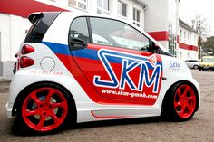 Smart Auto, Smart Car, Smart Fortwo, Smart Passion, Commercial Van, Small Trucks, Car Wrap, Custom Cars, Cars And Motorcycles