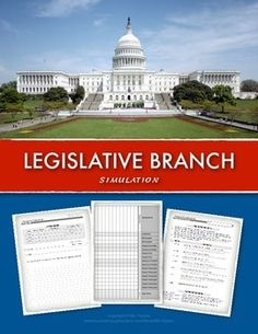 Need a great way to teach about Congress and the Legislative Branch in your civics class? Enjoy this Legislative Branch simulation lesson. Students will participate in writing bills for their school or community while learning the various stages within the lawmaking process.  Learning how a bill becomes a law has never been so exciting!  This Legislative branch simulation has become one of the highlights in my civics and government classes. #civics #legislativebranch #congress