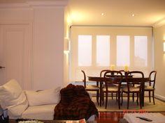 Blanco Total!!...Solo la madera y la manta de visòn destacan por si solas!!