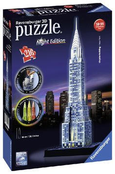PUZZLE 3D CHRYSLER BUILDING NIGHT EDITION Ravensburger - 12595
