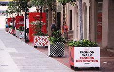 Fashion Walk Fashion Destination by Ken Lo, via Behance