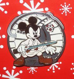 Disney Pin MICKEY Mouse as Luke Skywalker 3D