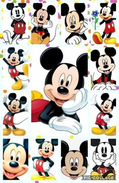 New Ideas For Wall Paper Disney Wallpapers Pictures Arte Do Mickey Mouse, Mickey Mouse Cartoon, Mickey Mouse And Friends, Mickey Mouse Birthday, Disney Mickey Mouse, Disney Images, Disney Pictures, Disney Art, Mickey Mouse Wallpaper Iphone