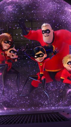 staggering wallpaper The incredibles 2 animation movie 2018 7201280 wallpaper Dreamworks Movies, Pixar Movies, Disney And Dreamworks, Disney Movies, Animation Movies, Disney Incredibles, Disney Pixar Cars, Disney Art, Iphone Cartoon