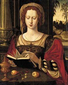 Pieter Coeke van Aelst (1502-1550) - The Magdalen Reading