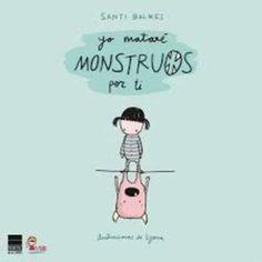 Un libro para pequeños con miedo a la oscuridad y para monstruos pequeños que disfrutan de leer sobre monstruos