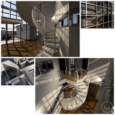 """Project """"Olimpia"""" - compartment double volume stairs"""