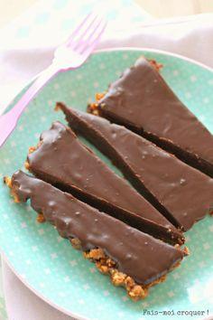 Fais-moi croquer !: La tarte au chocolat & cookies de Julie Andrieu {enfin celle de son cousin, mais on va pas chipoter on va plutôt la dévo...