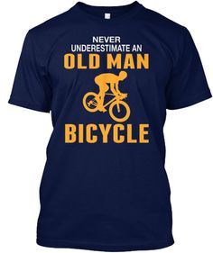 OLD MAN WITH A BICYCLE