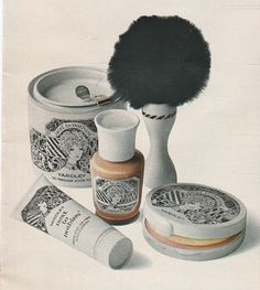 October 1969. 'The invisible makeup by Yardley. So fine and sheer, all he ever sees is your own pretty face.'