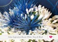 Navy blue and blush wedding reception - Google Search