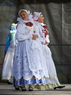 Regional costumes from the town of Żywiec, Poland