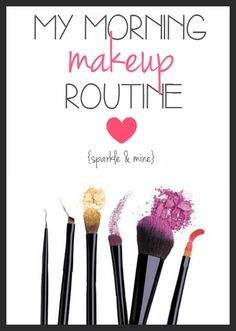 Blogger's complete morning makeup routine! Super detailed descriptions of every step and product she uses! This is seriously SO helpful!!