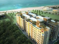 A brand new investment project 40 meters from Jomtien Beach. Neo Sea View Condo is a modern complex consisting of 4 buildings of 8 floors each. Each building has excellent amenities - swimming pool, terrace, reception, and a card entry system. Off plan buyers have the opportunity to buy an apartment on the early release price of 975.000 Baht for a fully furnished apartment.