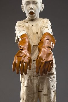༻⚜༺ ❤️ ༻⚜༺ Wood Carved Sculptures // By German Artist Gehard Demetz ༻⚜༺ ❤️ ༻⚜༺