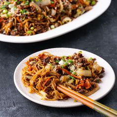 Hoisin Beef Noodles - Marion's Kitchen