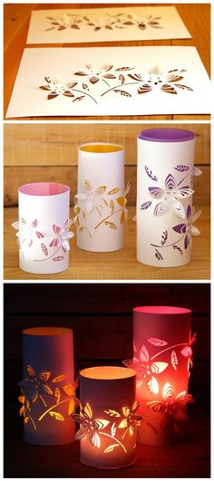 DIY Dimensional Paper Lanterns Tutorial | DIY Tag