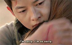 Descendants of the Sun - Yoo Shi Jin and Kang Mo Yeon
