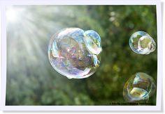 Wenn die Sonne scheint, kommen Seifenblasen erst richtig zur Geltung. An warmen Tagen sind sie ein unendlicher Spaß für große und kleine Künstler und lassen sich ganz leicht selbst machen. Rezepte und Tipps findet Ihr auf unserem Blog.