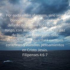 Filipenses 4:6-7, Biblia Reina Valera 1960 (RVR1960)