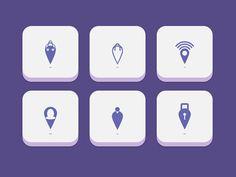 Locator Icons