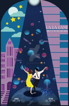 La La Land Madness! Fan Art Movie Poster