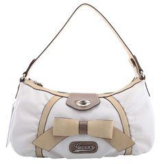 Ladies Hand Bag GUSSACI Synthetik, white - Buy New: £24.99 [UK & Ireland Only]