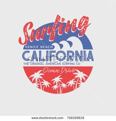 Image result for california beach typography