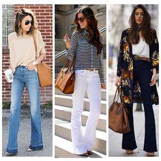 Hoje é casual ! O #jeans flare além de ser puro charme, alonga a silhueta e fica bem em todos os tipos de corpo, concordam? Boa sexta-feira para todas!!  #advoguettes #executivas #workoutfit #lookdetrabalho #ootd #casualfriday