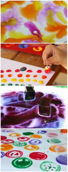 10 interesting ways to paint {from Learn Play Imagine}