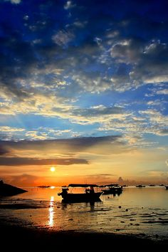 Sunrise on Sanur Beach, Bali