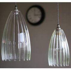 clear glass pendant light - Google Search