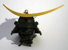 Mobile phone strap of Date Masamune's war helmet #Samurai