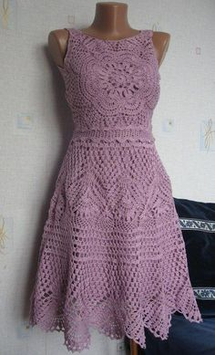 Dress Code Fashion unless Fashion Technical Drawing Dress any Crochet Lace Baby Dress Free Pattern plus Crochet Skirt Pattern Easy. Black Crochet Dress, Crochet Skirts, Crochet Clothes, Knit Dress, Jumper Dress, Beau Crochet, Mode Crochet, Crochet Baby, Crochet Summer