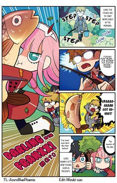 Official manga of Darling in the FranXX. Otaku, Sailor Moon Wallpaper, The Ancient Magus, Estilo Anime, Zero Two, Undertale Fanart, Best Waifu, Comic Games, Cute Chibi