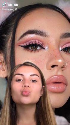 Edgy Makeup, Makeup Eye Looks, Eye Makeup Art, Eyeshadow Looks, Skin Makeup, Makeup Tutorial Eyeliner, Makeup Looks Tutorial, Creative Eye Makeup, Colorful Eye Makeup