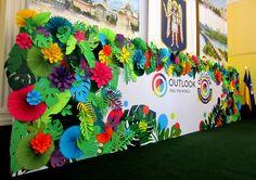 Tropical Party Decorations  Hawaiian Party Decor  Hawaiian