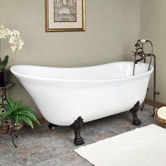 clawfoot tub - Google Search