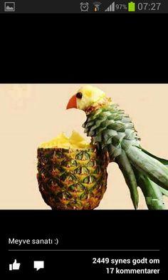 Ananas papegøje