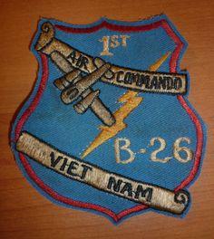 B 435 VNBP US 1st Air Commandos USAF Special Operations Vietnam War Patch   eBay